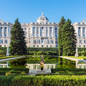 Royal palace tour madrid